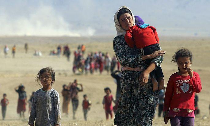 Jesidische Flüchtlinge im Irak