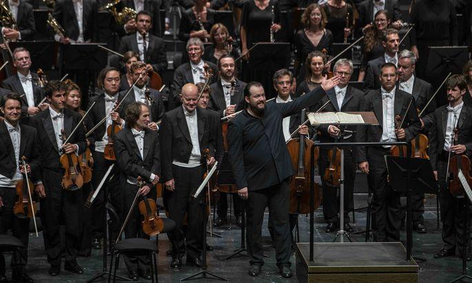 Das Gewandhausorchester Leipzig.