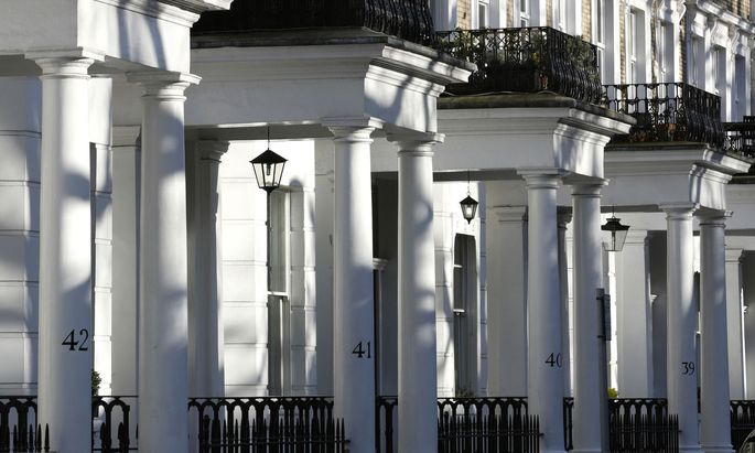 Luxusimmobilien in London.