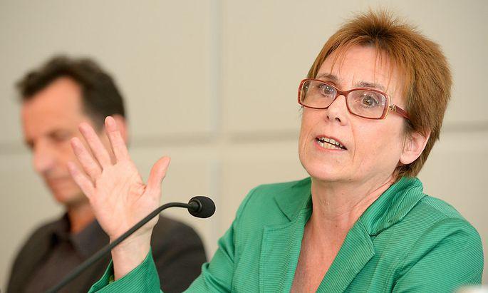 Richterin Barbara Helige, Vorsitzende der Kommission.