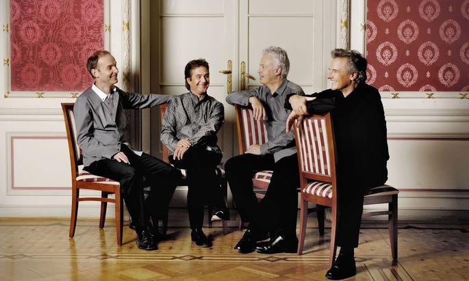 Das Auryn Quartett.