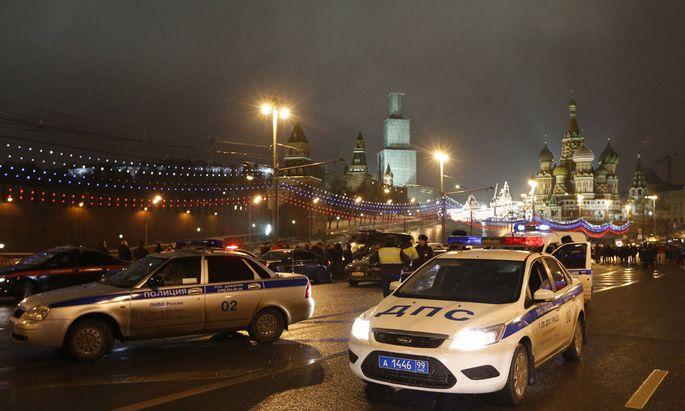 Boris Nemzow wurde in Moskau erschossen