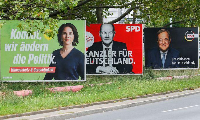 Die Bücher der drei Spitzenkandidaten von Grünen, SPD und CDU wurden auf Plagiate geprüft.