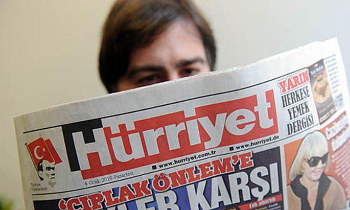 Tuerkisches Massenblatt Huerriyet Verkauf