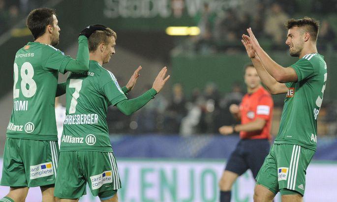 FUSSBALL: OeFB-SAMSUNG-CUP / ACHTELFINALE /SK RAPID WIEN - AUSTRIA SALZBURG