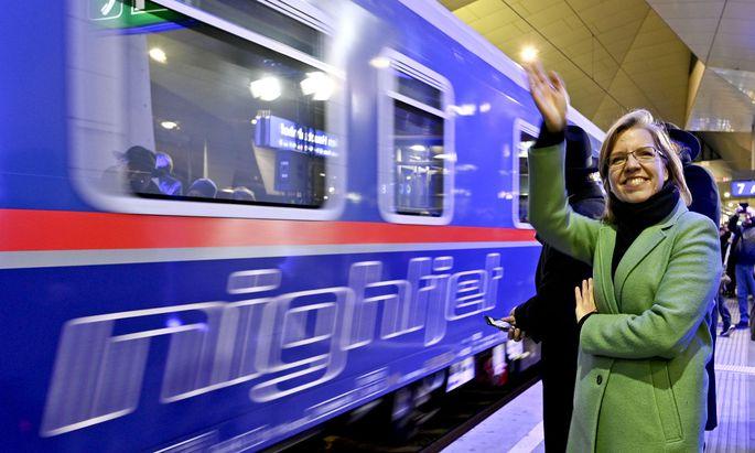 """Infrastrukturministerin Leonore Gewessler: """"Die Zeit ist reif"""""""