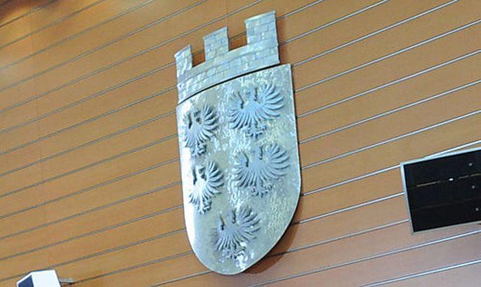 Symbolbild: niederösterreichisches Wappen im Landtag