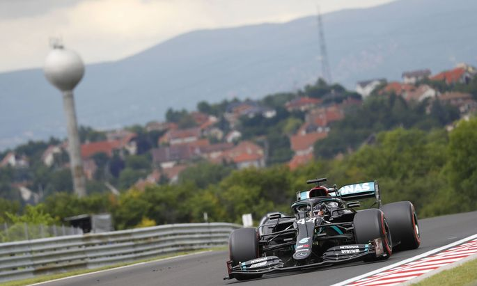 Hamilton startet in Ungarn aus der Pole-Position