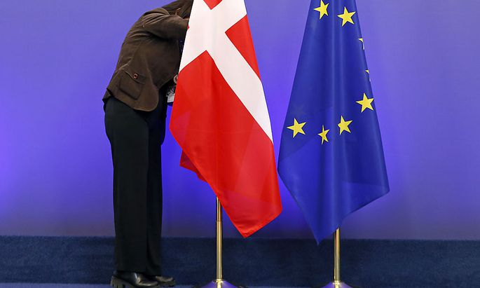 Unter der dänischen Flagge haben im vergangenen Jahr nicht viel mehr Menschen Schutz gesucht, als die Jahre davor.