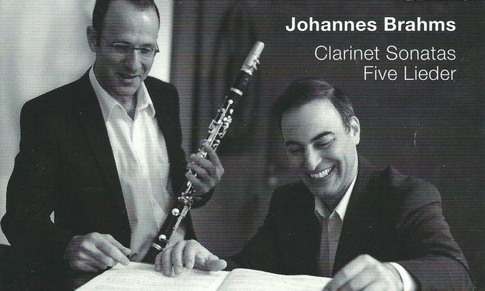 Ron Selka, Aviram Reichert Brahms: Klarinettensonaten, Lied-Arrangements (TYXart)