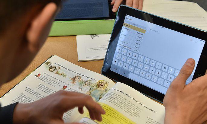 Digitalisierung hat in Österreichs Schulen noch nicht wirklich stattgefunden.