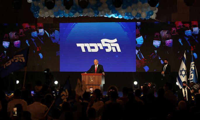 Benjamin Netanjahu hat Chancen, Ministerpräsident Israels zu bleiben.