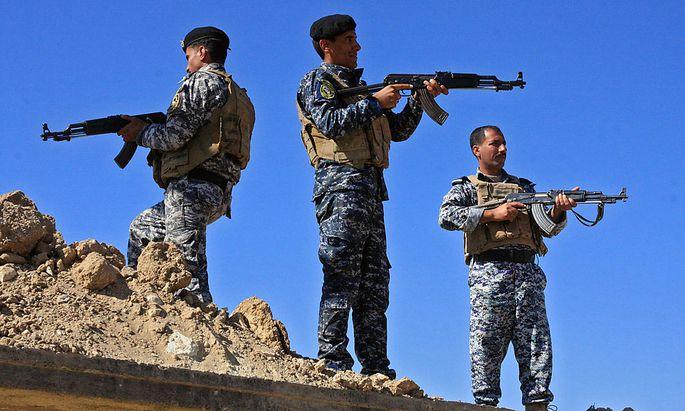 Irakische Sicherheitskräfte könnten in der Türkei ausgebildet werden.
