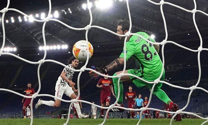 """Den """"Red Devils"""" reichte im Halbfinal-Rückspiel bei der AS Roma am Donnerstag auch eine 2:3-(1:0)-Niederlage."""