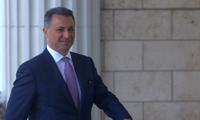 Ex-Regierungschef Nikola Gruevski