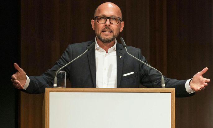 """Will sich """"bei allen Menschen aufrichtig für das irritierende Bild der SPÖ entschuldigen"""": Michael Ritsch (SPÖ), Bürgermeister von Bregenz. (Archivbild)"""