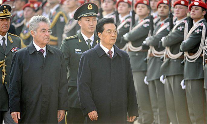 Wien Fischer empfaengt chinesischen