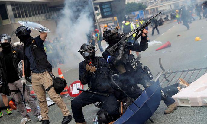 In Hongkong nehmen Proteste gegen die Regierung kein Ende