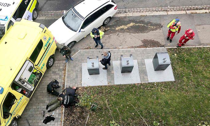 Ein weiterer Rettungswagen und Schüsse der Polizei stoppten schließlich den Mann im gestohlenen Rettungswagen.