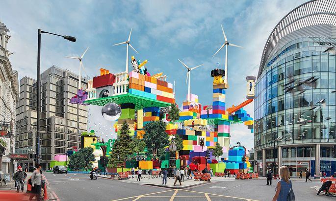 """""""Ich bau mir die Welt, wie sie mir gefällt"""" – Kinder entpuppten sich in einem Lego-Projekt als nachhaltige Entwickler."""