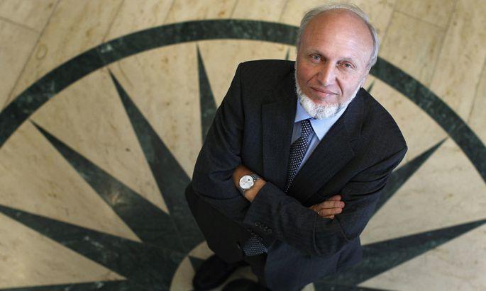 """Im Ökonomen-Ranking der """"FAZ"""" belegte Hans-Werner Sinn in den vergangenen Jahren regelmäßig Platz eins."""