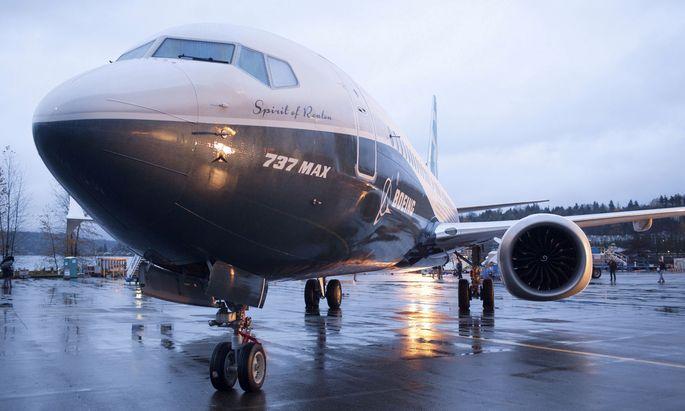 Die Boeing 737 Max hat derzeit Flugverbot. Wie lang, ist noch offen.