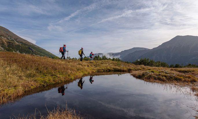Besonders deutsche Touristen sollen Österreichs Berge im Sommer genießen.