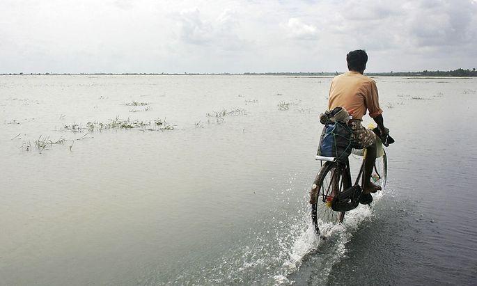Sri Lanka (hier die Ostküste in Kalmunai) war nicht auf den Tsunami vorbereitet.