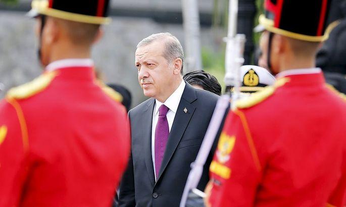 Der Präsident der Türkei: Recep Tayyip Erdogan.