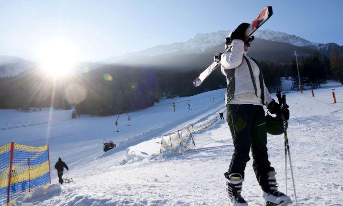 Ein Schlepplift, eine präparierte Piste – kein Dutzend Skifahrer, die sich diese teilen – manchmal reicht das.