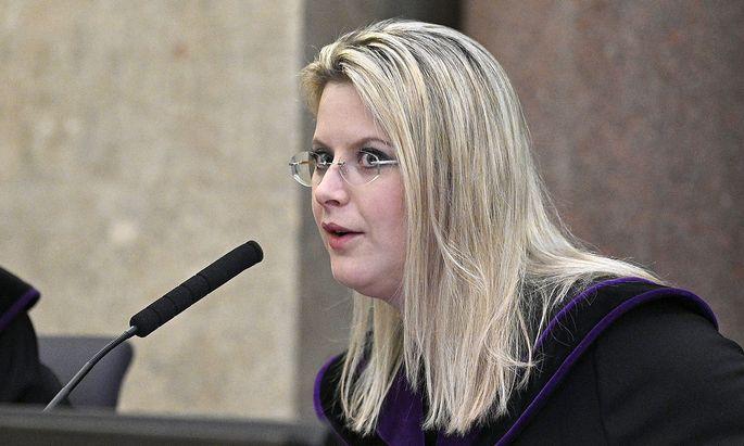Grasser-Prozess: Richterin Hohenecker