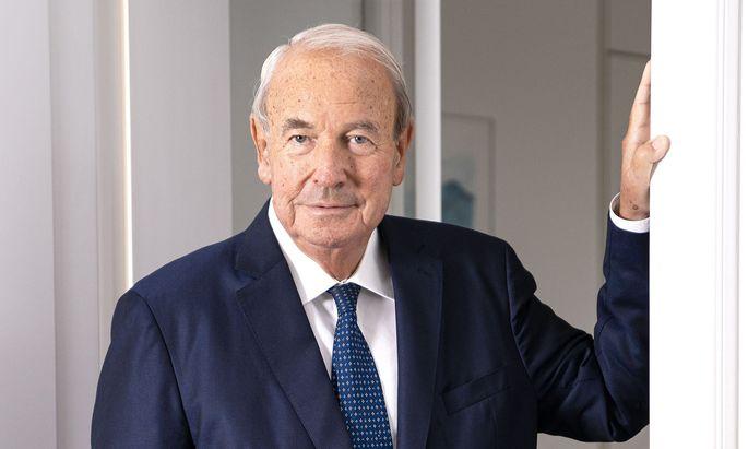 Heinz Hermann Thiele hat Knorr-Bremse zu einem Weltmarktführer geformt