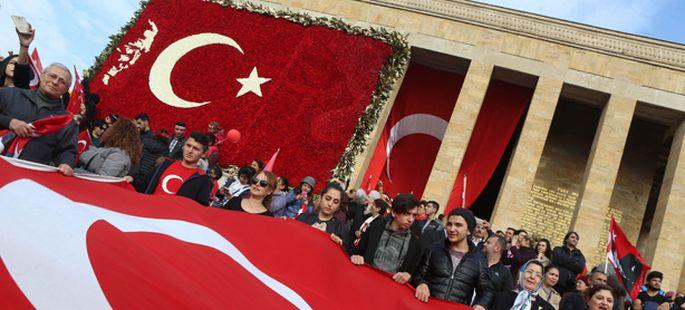 TURKEY-HISTORY-ANNIVERSARY-POLITICS