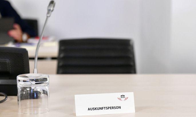 BVT-U-AUSSCHUSS: AUSKUNFTSPERSON