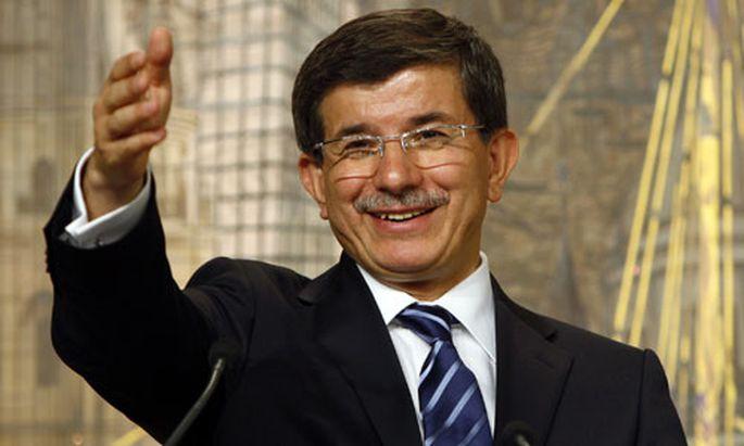 Außenminister Ahmet Davutoglu.