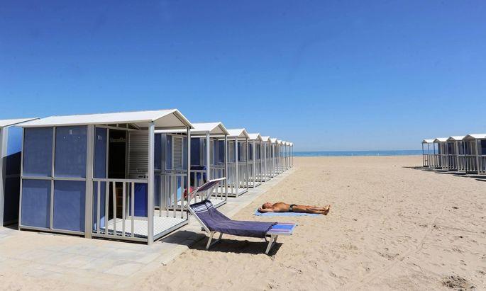 Sonne, Strand und Meer warten in Bari.