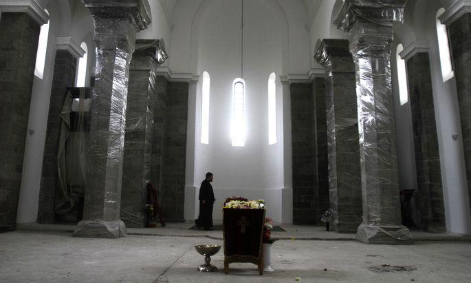 serbisch-orthodoxen Kirche im Zwielicht