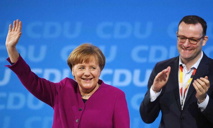 Merkel, Spahn