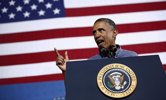U.S. President Obama delivers remarks on affordable education in Syracuse