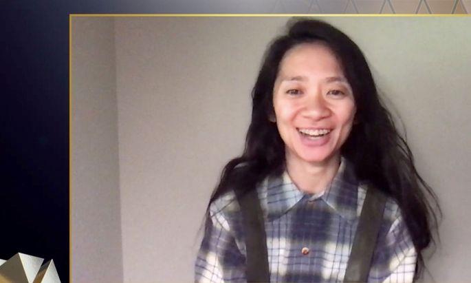 Regisseurin Chloé Zhao hat auch bei den diesjährigen britischen Filmpreisen abgeräumt