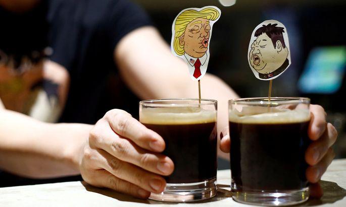 Am Dienstag treffen Donald Trump und Kim Jong-un einander in Singapur.