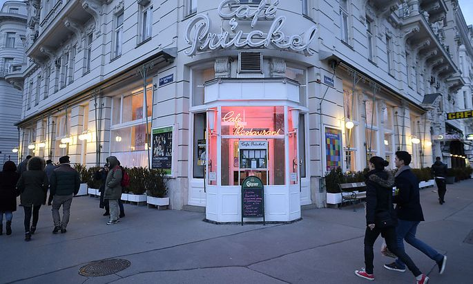 Archivbild: das Cafe Prückel