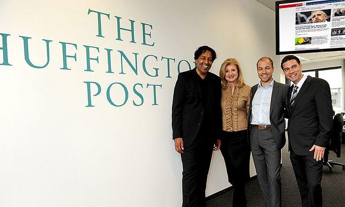 Deutsche Huffington Post startet