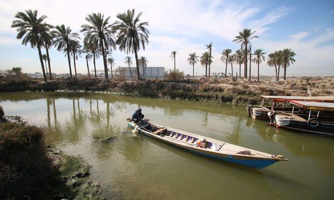 IRAQ-DAILYLIFE-FISHING