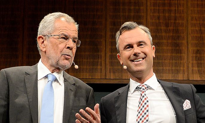 Hofer und Van der Bellen: