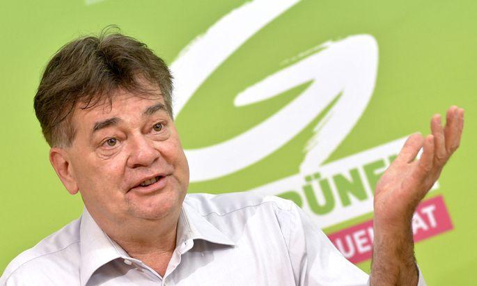 Werner Kogler soll EU-Spitzenkandidat der Grünen werden.