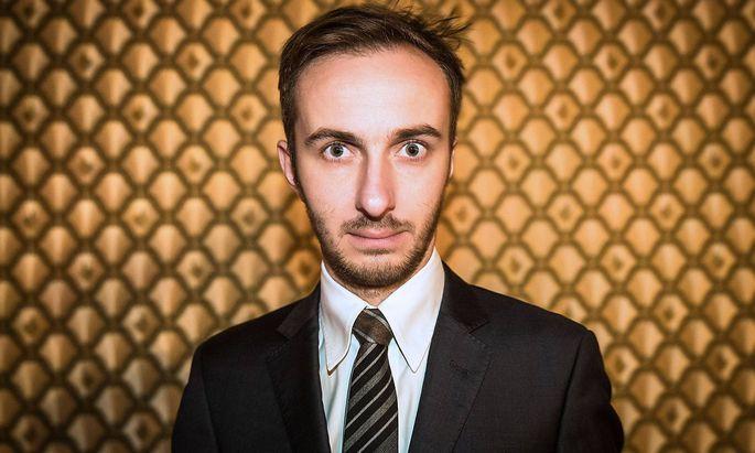 Moderator Jan B�hmermann Moderator Jan B�hmermann anl��lich der EinsPlus TV Sendung LateLine Live a