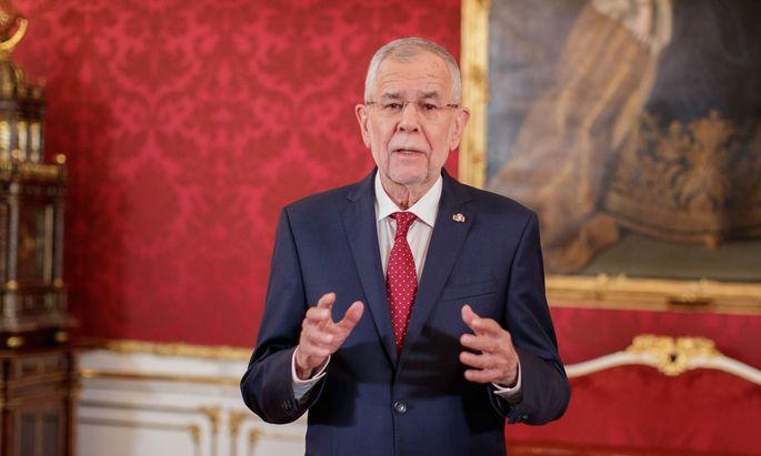 Bundespräsident Van der Bellen.Bundespräsident Van der Bellen.