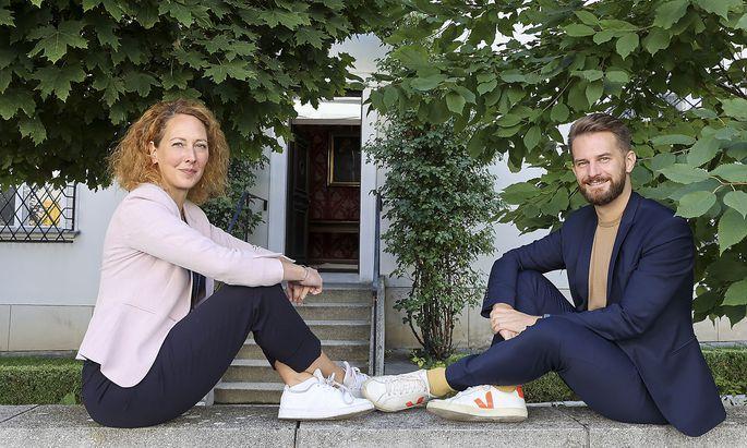 Judith Pühringer und Peter Kraus