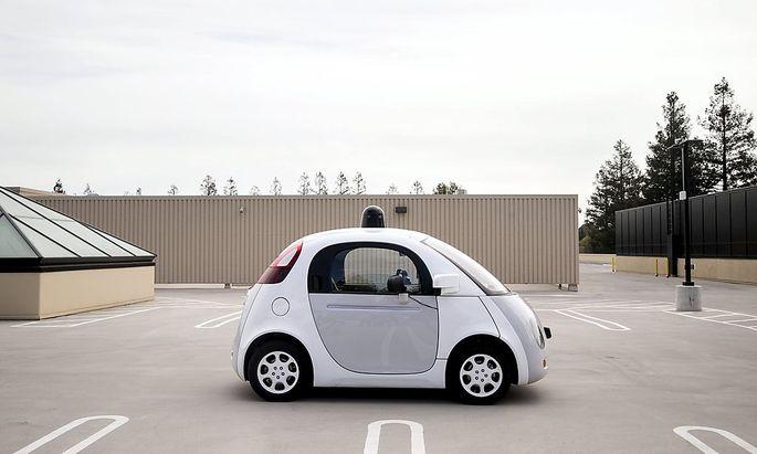 Google hat mehrere autonome Fahrzeuge auf den Straßen.